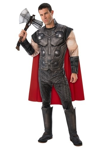 Click Here to buy Deluxe Avengers Endgame Thor Mens Costume from HalloweenCostumes, CDN Funds & Shipping