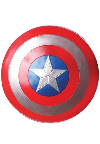 Click Here to buy Avengers Endgame Captain America 24  Toy Shield from HalloweenCostumes, CDN Funds & Shipping