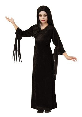 The Addams Family Kids Morticia Costume