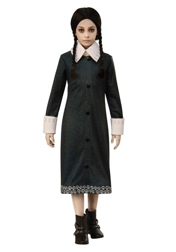 The Addams Family Wednesday Childs Costume