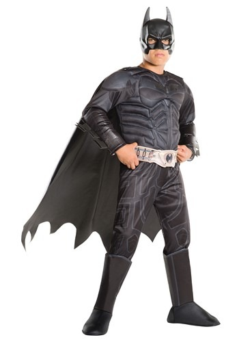 Click Here to buy Kidss Batman Dark Knight Deluxe Costume from HalloweenCostumes, CDN Funds & Shipping