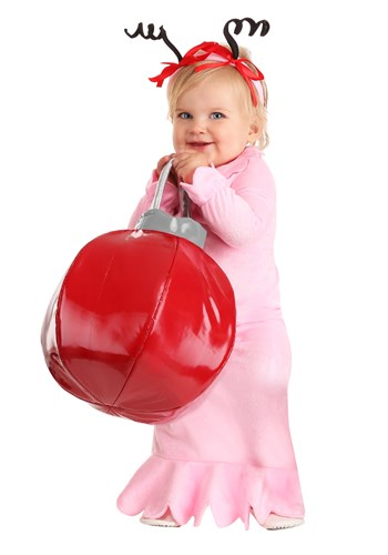 Click Here to buy Baby Classic Christmas Costume For Girls from HalloweenCostumes, CDN Funds & Shipping