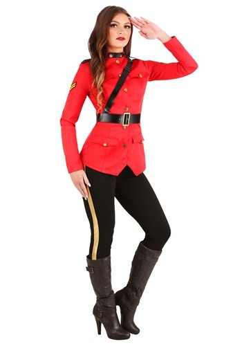 RCMP Canadian Mountie Womens Costume