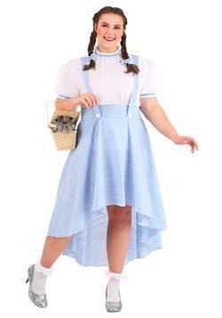 Plus Size Women's Kansas Girl High Low Costume