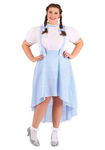 Plus Size Kansas Girl High Low Costume for Women