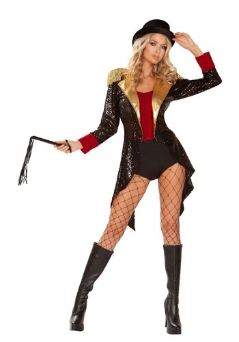 Click Here to buy Sexy Ringmaster Womens Costume from HalloweenCostumes, CDN Funds & Shipping