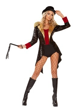 Womens Sexy Ringmaster Costume