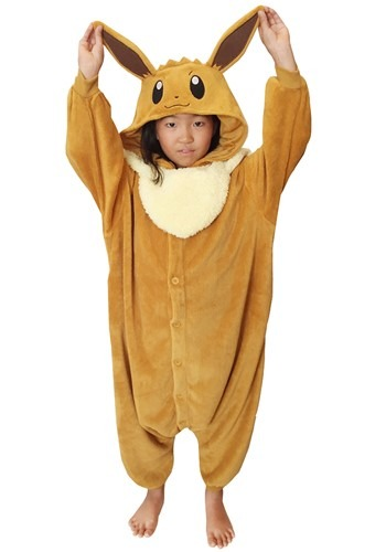 Pokemon Eevee Kigurumi for Kids