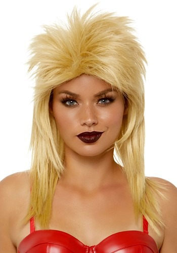 Click Here to buy Blonde Rocker Wig from HalloweenCostumes, CDN Funds & Shipping