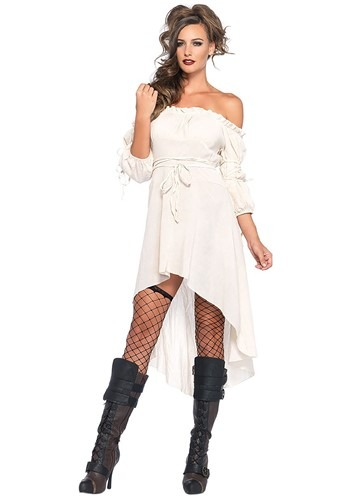 Click Here to buy White Hi-Lo Pirate Dress Womens Costume from HalloweenCostumes, CDN Funds & Shipping