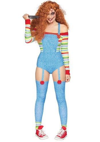 Click Here to buy Killer Doll Womens Costume from HalloweenCostumes, CDN Funds & Shipping