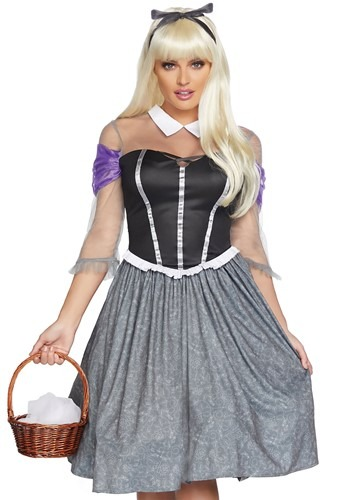 Peasant Sleeping Princess Costume for Women