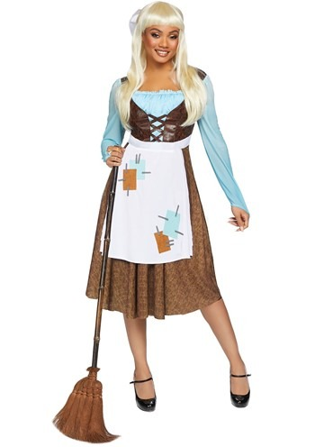 Click Here to buy Peasant Cinderella Womens Costume from HalloweenCostumes, CDN Funds & Shipping
