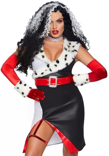 Devilish Diva Costume for Women