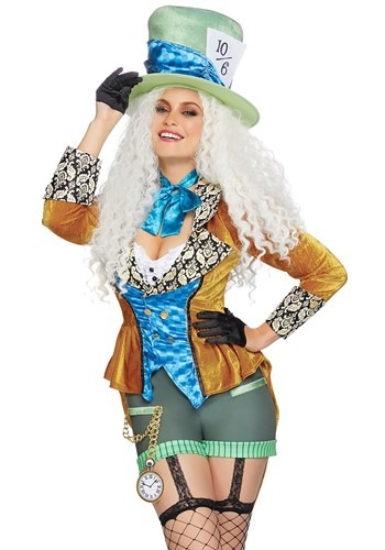 Click Here to buy Classic Mad Hatter Womens Costume from HalloweenCostumes, CDN Funds & Shipping