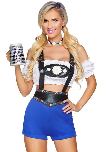Click Here to buy Lederhosen Honey Womens Costume from HalloweenCostumes, CDN Funds & Shipping