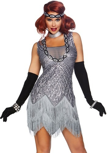 Roaring Roxy Flapper Womens Costume