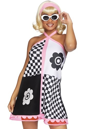 Click Here to buy Womens Swinging 60s Sweetie Costume from HalloweenCostumes, CDN Funds & Shipping
