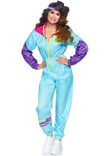 Click Here to buy Awesome 80s Ski Suit Womens Costume from HalloweenCostumes, CDN Funds & Shipping