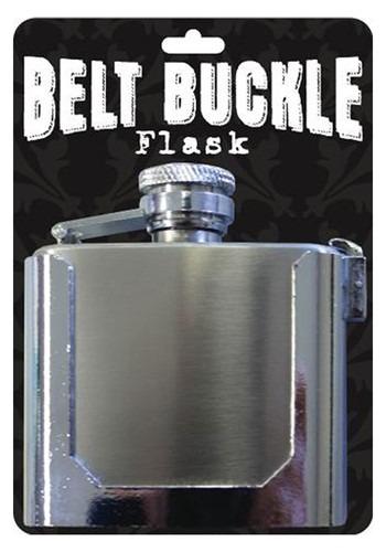Functioning Belt Buckle Flask