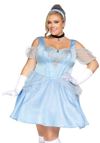 Click Here to buy Plus Glass Slipper Sweetie Womens Costume from HalloweenCostumes, CDN Funds & Shipping