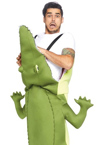 Man Eating Alligator Adult Size Costume