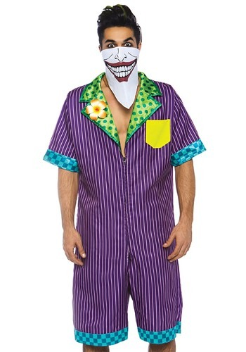 Mens Super Villain RompHim Costume