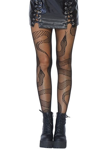 Snake Net Womens Tights