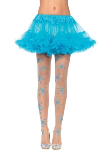 Snowflake Glitter Tights