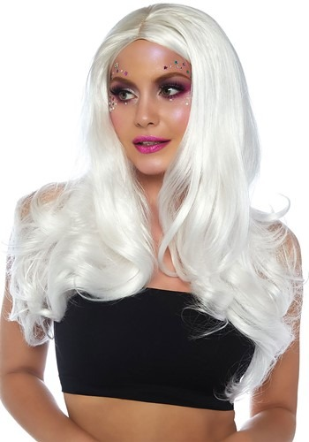 Click Here to buy Long Wavy White Womens Wig from HalloweenCostumes, CDN Funds & Shipping