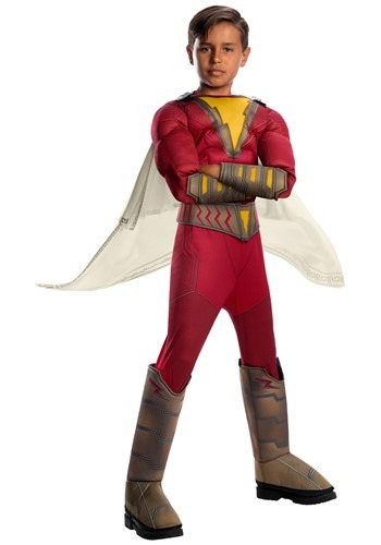 Shazam! Deluxe Childs Costume