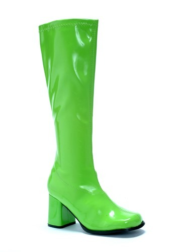 Click Here to buy Green Womens Gogo Boots from HalloweenCostumes, CDN Funds & Shipping