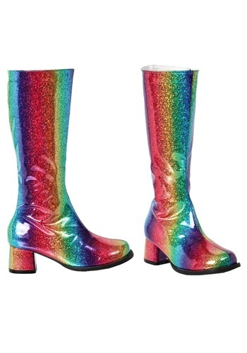 Gogo Rainbow Boots for Girls