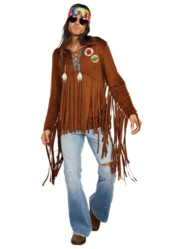 Click Here to buy Hippie Dude Mens Costume from HalloweenCostumes, CDN Funds & Shipping