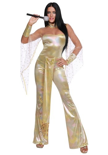 Click Here to buy 70s Icon Womens Costume from HalloweenCostumes, CDN Funds & Shipping