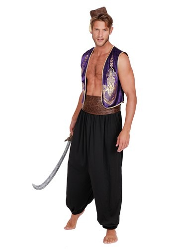 Mens Arabian Prince Costume With Accessory