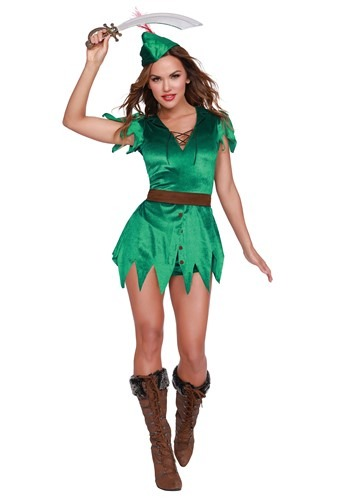 Click Here to buy Mischief in Neverland Womens Costume from HalloweenCostumes, CDN Funds & Shipping