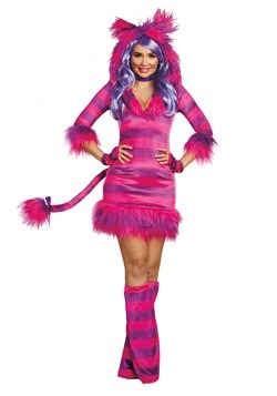 Wonderland Magic Cat Women's Costume