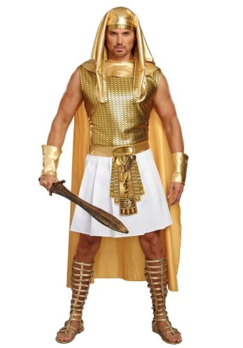 Click Here to buy Ramses Egyptian Mens Costume from HalloweenCostumes, CDN Funds & Shipping