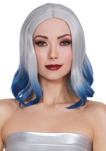 Click Here to buy Dip Dye Grey/Blue Wig from HalloweenCostumes, CDN Funds & Shipping