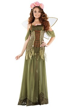 Women's Rose Fairy Princess Costume