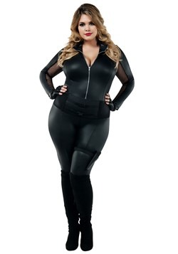983430425b Secret Agent Plus Size Costume for Women