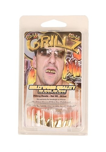 Solid Gold Teeth Accessory