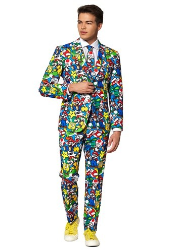 Opposuit Super Mario Men's Suit