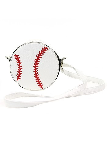 Click Here to buy White Baseball Purse from HalloweenCostumes, CDN Funds & Shipping