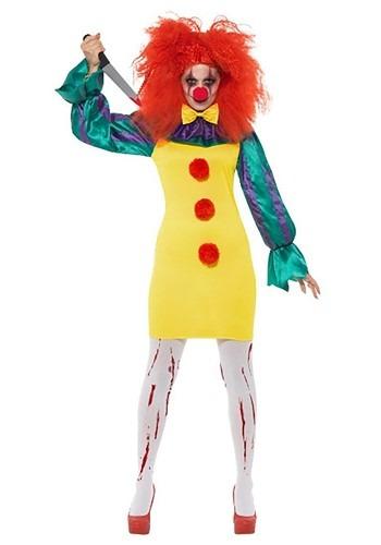 Classic Horror Clown Womens Costume