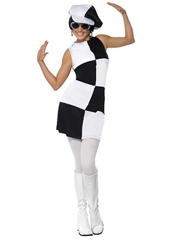 Click Here to buy 60s Party Girl Womens Costume from HalloweenCostumes, CDN Funds & Shipping