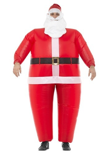 Click Here to buy Inflatable Santa Costume Adult from HalloweenCostumes, CDN Funds & Shipping
