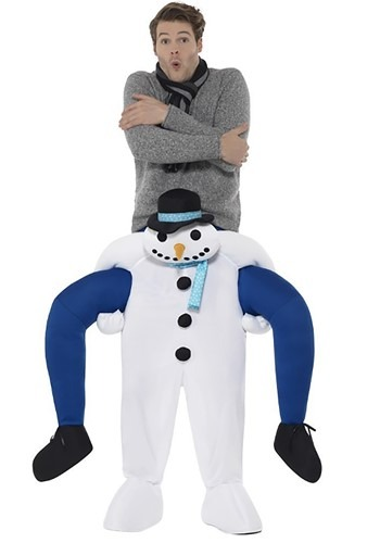 Click Here to buy Piggyback - Snowman Costume from HalloweenCostumes, CDN Funds