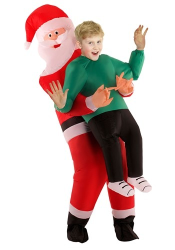 Click Here to buy Santa Pick Me Up Kids Costume from HalloweenCostumes, CDN Funds & Shipping